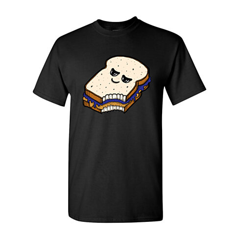 Buy too cute to eat peanut butter and jelly sandwich adult for Peanut butter t shirt dress
