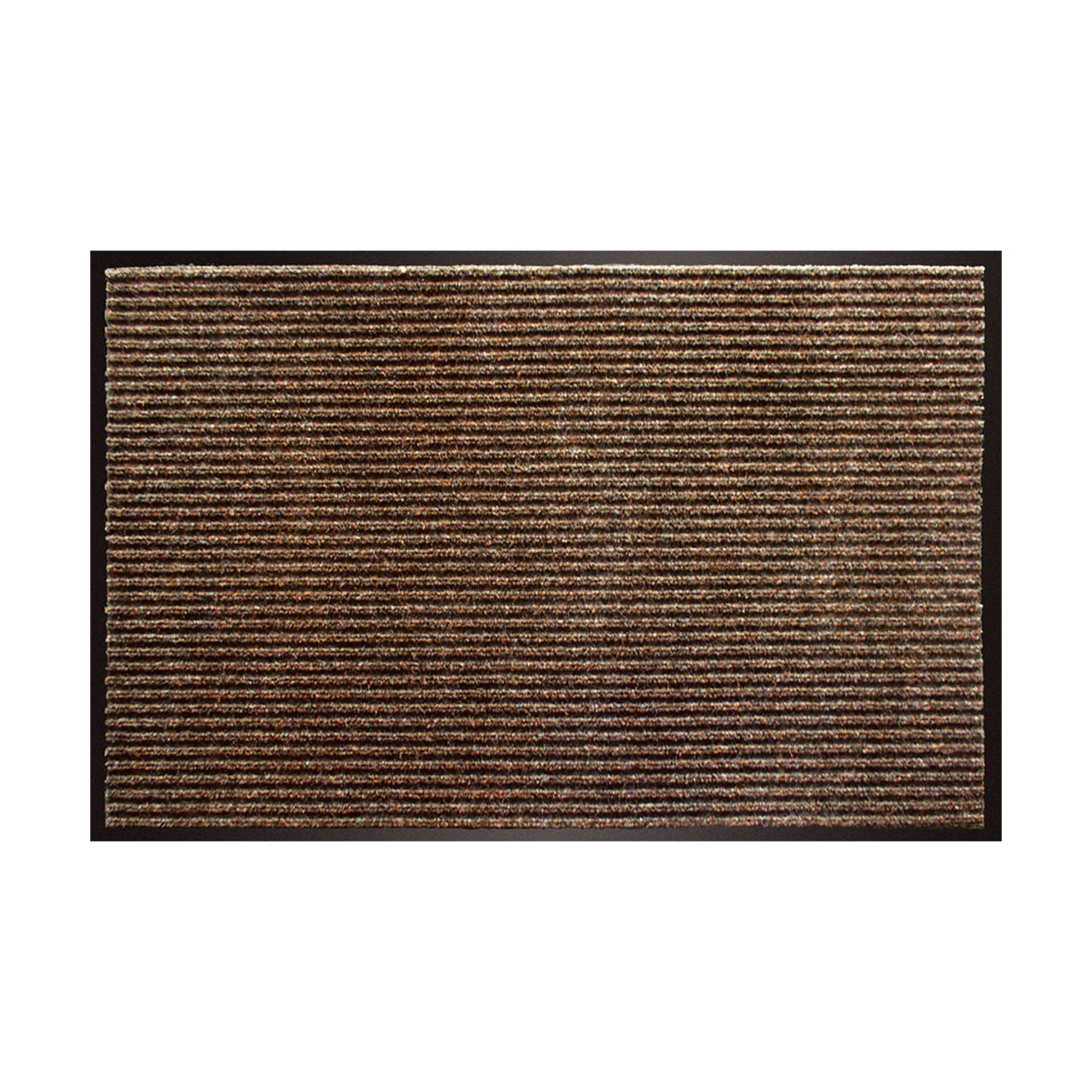 BuyMats Home Indoor Outdoor Apache Rib Mat - Cocoa 5950e82d2a00e4530e248a7a