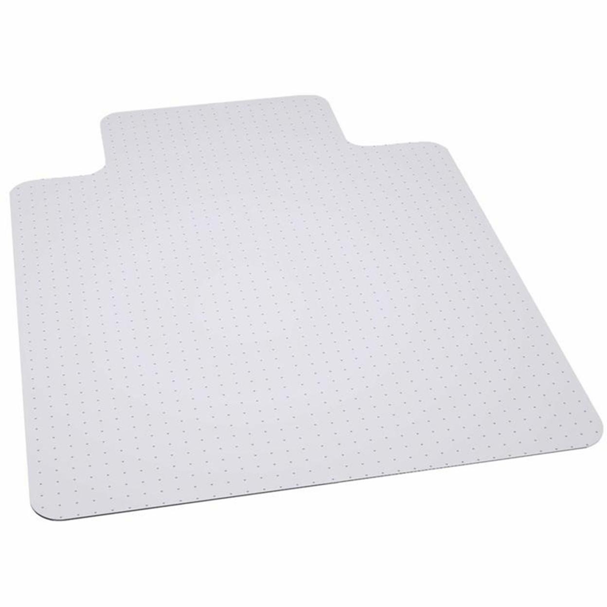 Flash Furniture 36′ x 48′ Big & Tall 400 lb. Capacity Carpet Chairmat with Lip [Mat-124086-Gg]