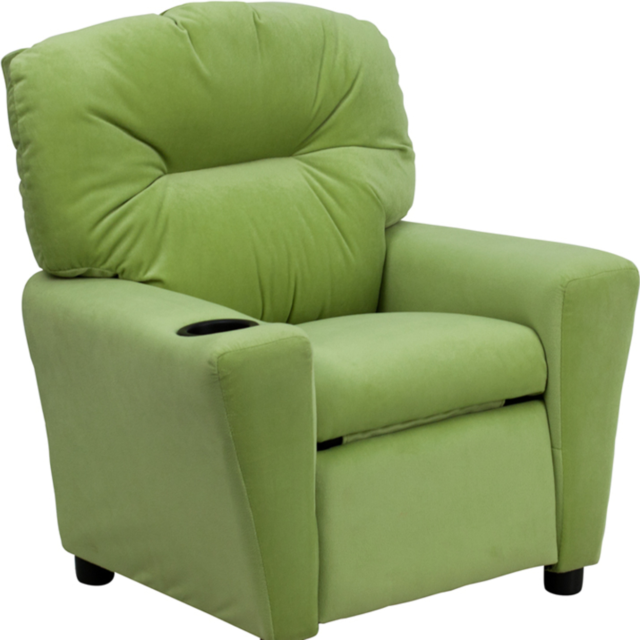 Flash Furniture Contemporary Avocado Microfiber Kids Recliner with Cup Holder [863-Bt-7950-Kid-Mic-Avo-Gg] 59e46011e224613cc0691999