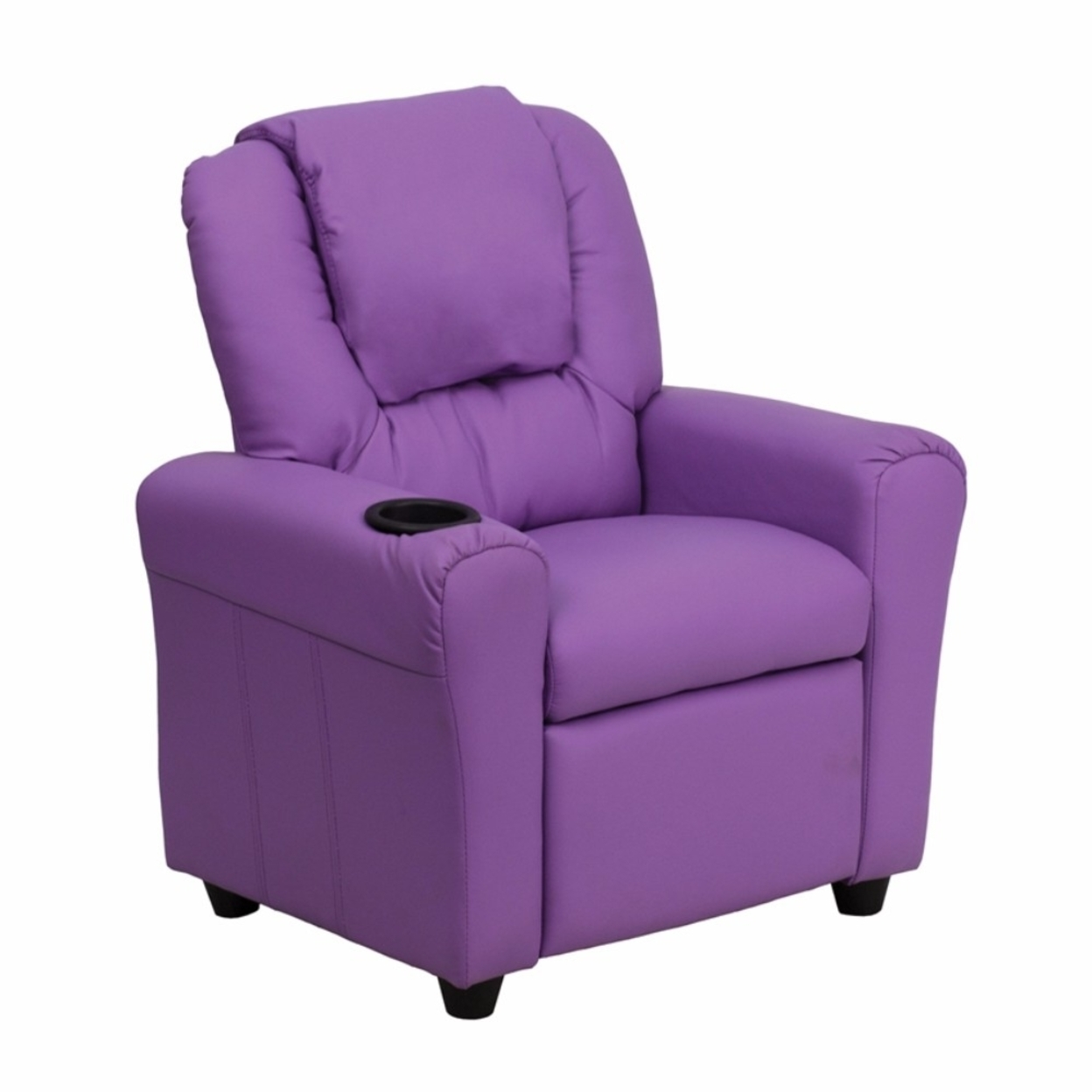 Flash Furniture Contemporary Lavender Vinyl Kids Recliner with Cup Holder and Headrest [863-Dg-Ult-Kid-Lav-Gg] 59e46028e2246142ce45d2bd