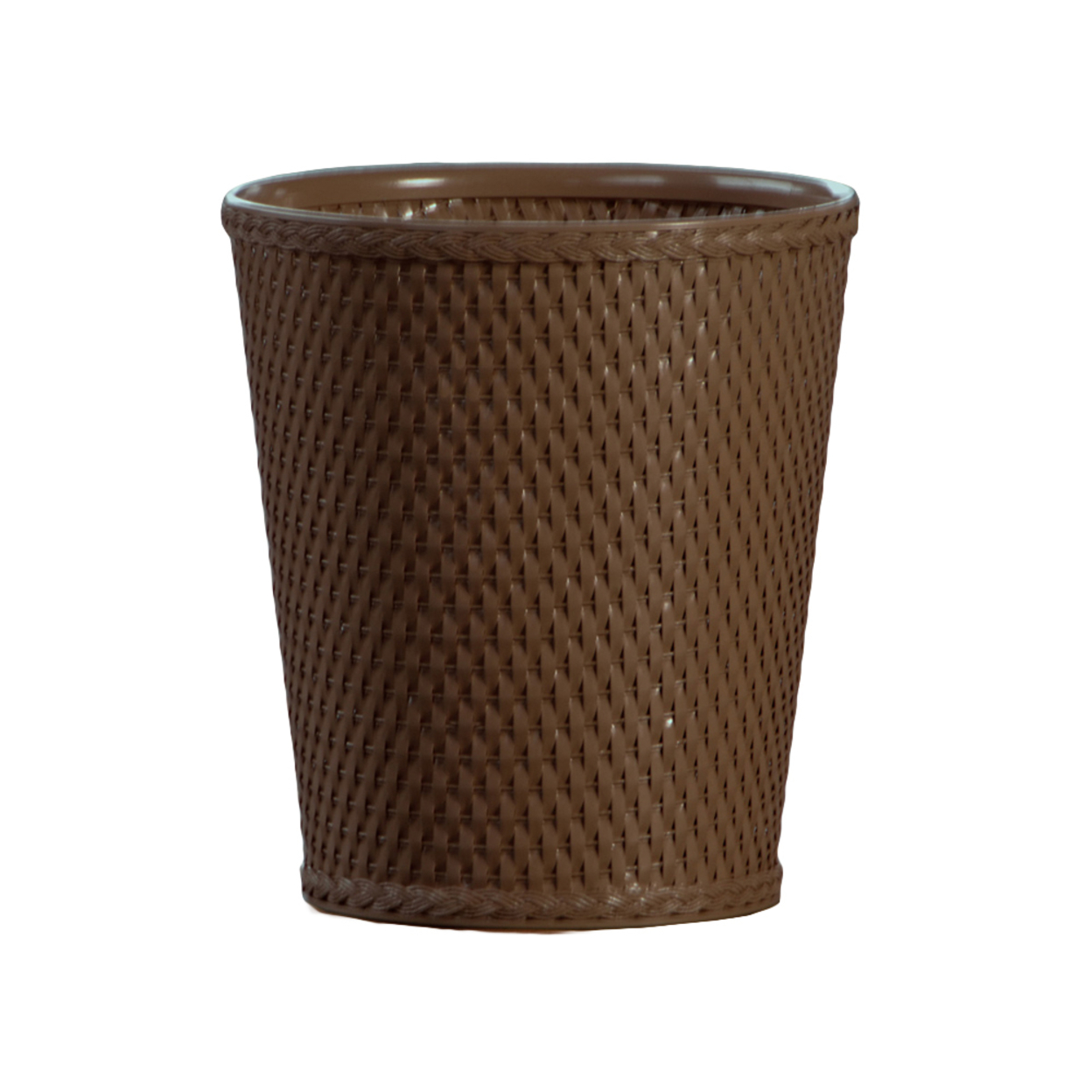 Lamont Home Trash Container Carter Round Wastebasket