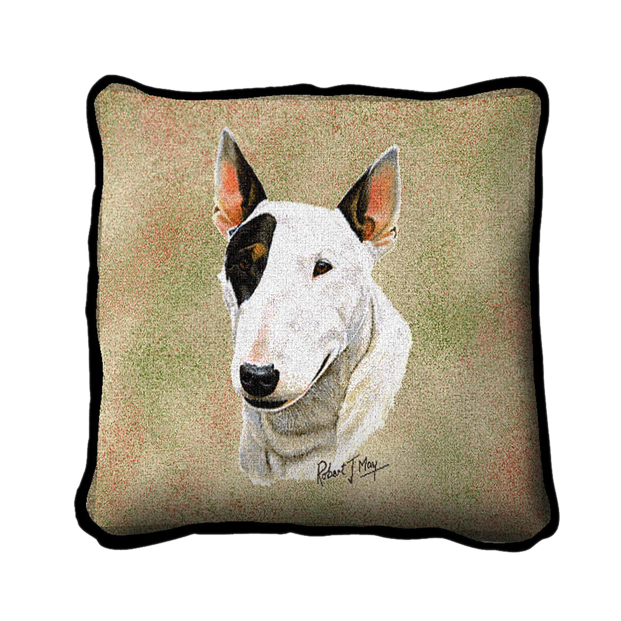 Pure Country Weavers Home Decorative Bull Terrier Pillow Cover 596a08822a00e45f194ec6a8