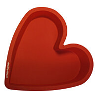 cmsHome Silicone Heart Baking Pan