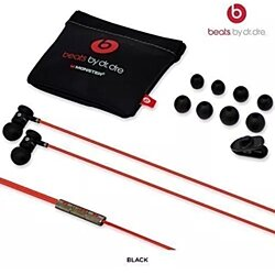 Beats by Dr. Dre urBeats In-Ear Only Headphones - Black W/ Pouch And Earbuds