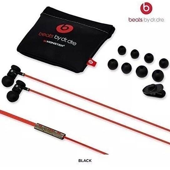 Buy Beats by Dr. Dre urBeats In-Ear Only Headphones - Black W  Pouch And  Earbuds by DealsOnTheGo on OpenSky 14575a538