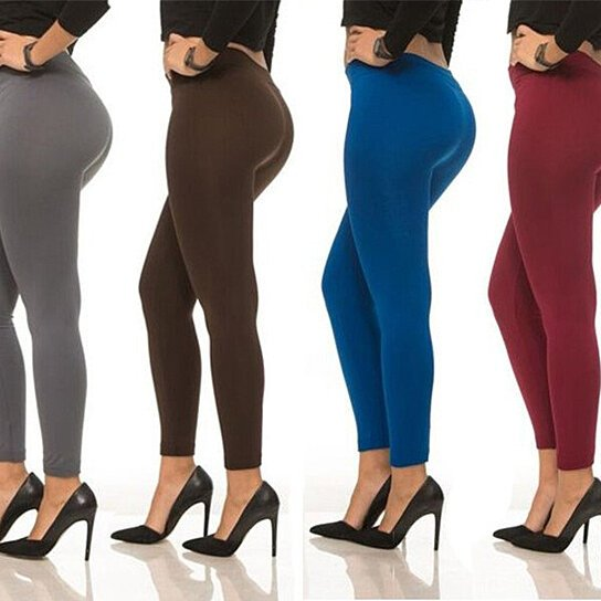 533ac6352241a2 Buy Coco Limon Women's Fleece Leggings (6-Pack) L-145 by COCO LIMON FASHION  on OpenSky