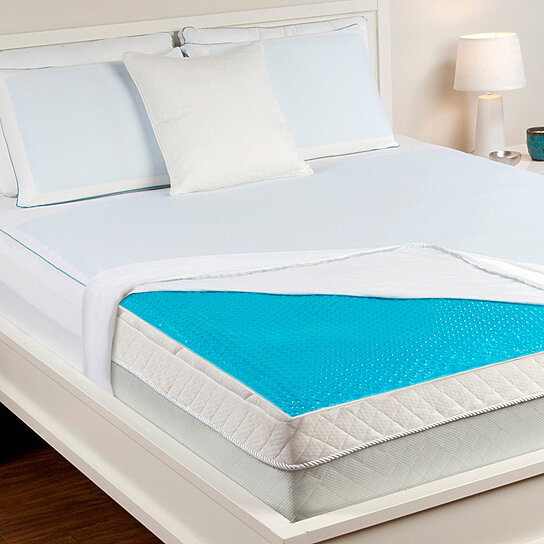 Buy Hydraluxe Always Cool Gel Mattress Pad By Comfort