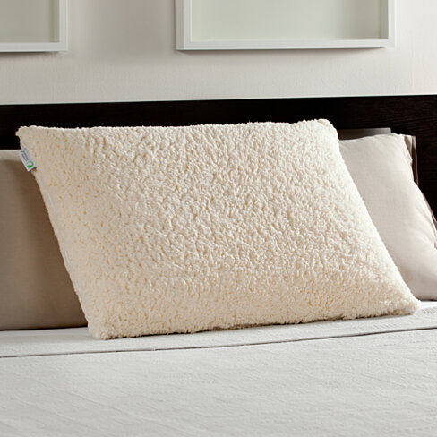 Buy Luxury Sherpa Covered Memory Foam Pillow By Comfort