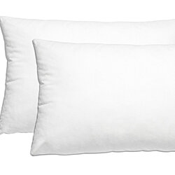 Down-Alternative Premium Bed Pillows: 2 Pack