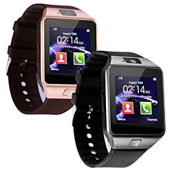 2-Pack Bluetooth Smartwatches for Android & iPhone, Multiple Colors