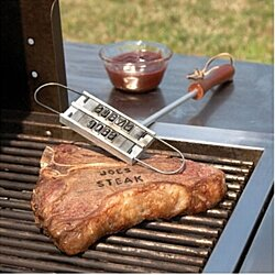 BBQ Personalized Branding Iron Kit