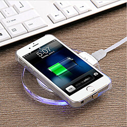 iPhone Case with Wireless Charging Pad