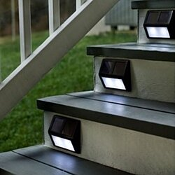 Weatherproof Night-Activated Wireless LED Solar Lights | 2 Pack