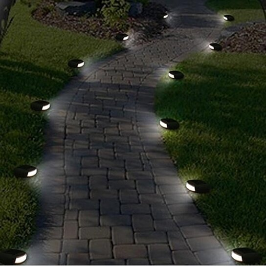Buy Wireless Solar Led Pebble Stone Pathway Lights By