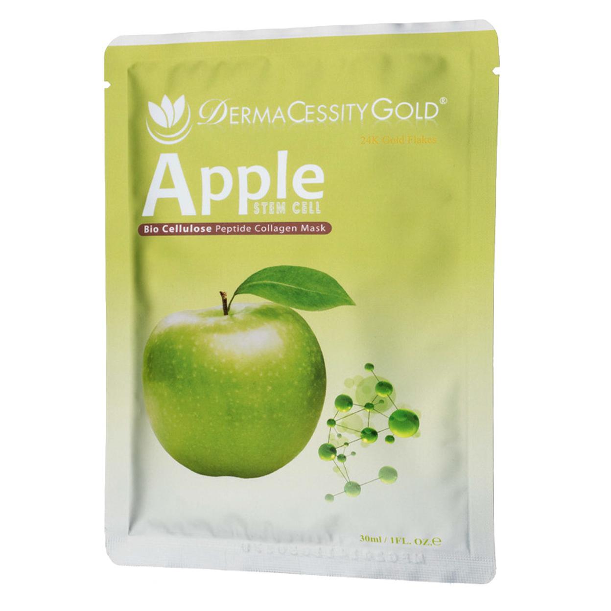 DermaCessity Gold Apple Stem Cell Collagen Peptide Mask (1 oz) 563ffebea3771cb83e8ba4f8