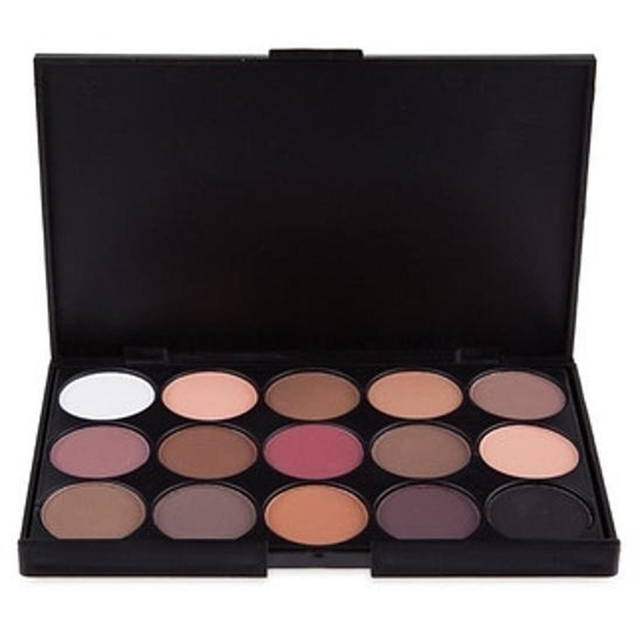 Eyeshadow Makeup Palette 15 Colors - Matte-E15-1 583115e3fa08eb131a521531