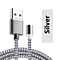 iPhone Magnetic Cables,  3.3FT Nylon Braided Lightning to USB-3 Colors To Pick From