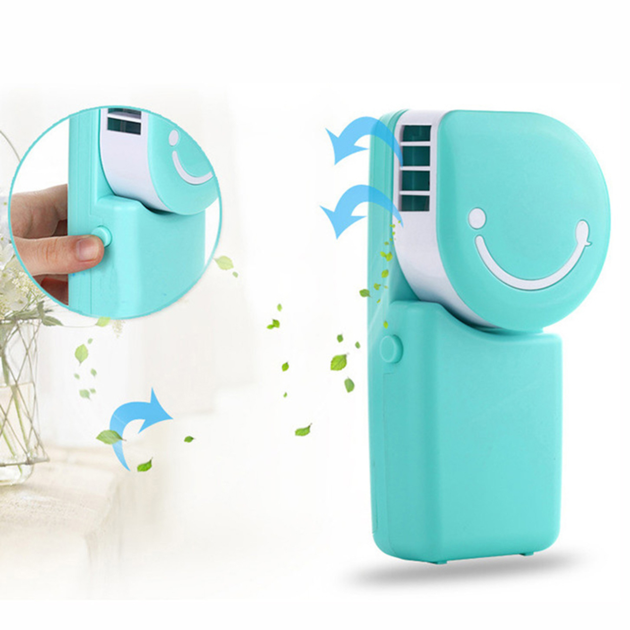 Hand Held Portable Air Conditioner in 3 Colors 58b65355469fe254a03116cc