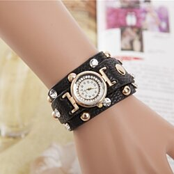 Stylish Womens Cuff Watch Comes In 8 Colors