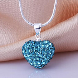 Sweet Hearts Necklace - 9 Colors