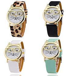 The Purr-Fect Whimsical Cat Watch in 14 Styles