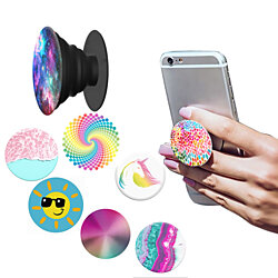 Universal Expanding Phone Pop Up Stand And Grip Holder