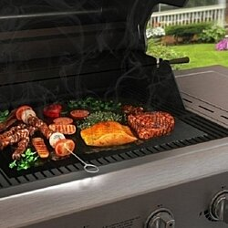Barbeque Grill Sheet (2 Pack) - BBQ Grilling Mat