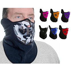 Neoprene/Fleece Neck and Face Mask