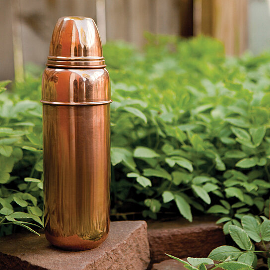 Buy Pure Copper Water Bottle By Alchemade On Opensky