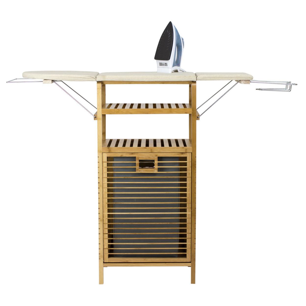 "Ironing Board & Hamper Center (37\"" Standard Height)"