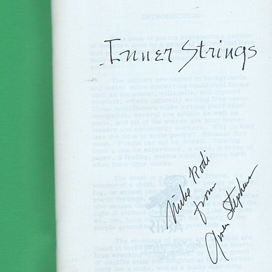 Buy Inner Strings Poems Edited By Gail A Burnett By