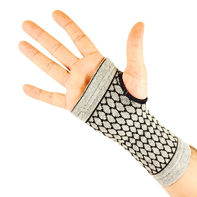 Unisex Anti-Fatigue Carpal Glove with Bamboo Fiber (2-Pack)