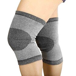 Unisex Anti-Fatigue Knee Support with Bamboo Fiber (2-Pack)