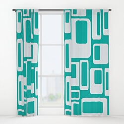 Mid Century Modern Curtains - Clyde