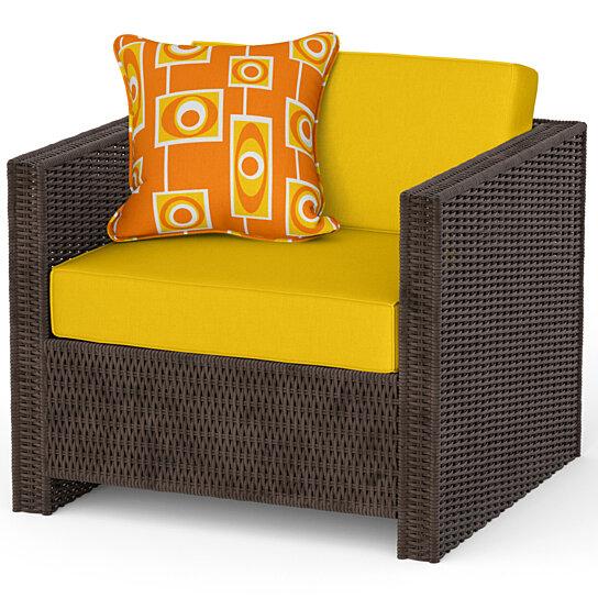 Buy Modern Orange Outdoor Throw Pillow By Crash Pad Designs On Dot Bo