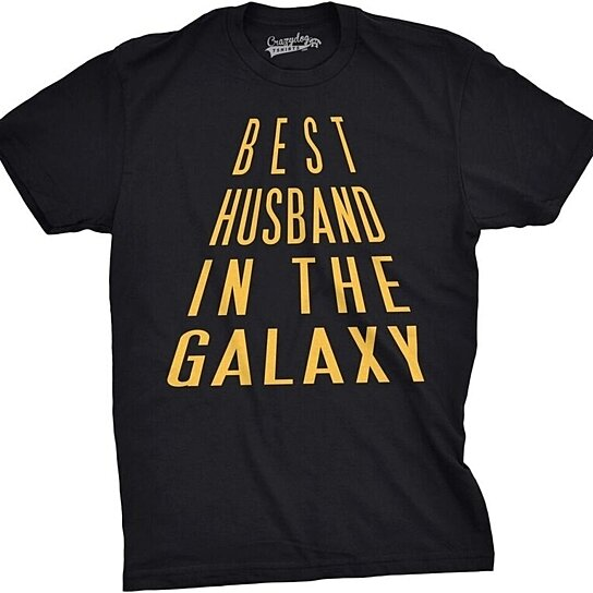 best husband in the galaxy nerdy t shirt perfect christmas gift or birthday present