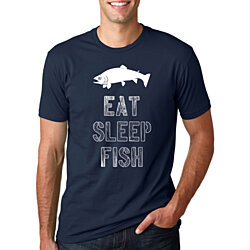 Eat Sleep Fish Shirt