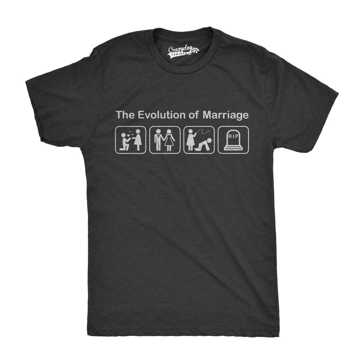 Evolution of Marriage Wedding T-Shirt 57b60bc6e22461229f325f1b