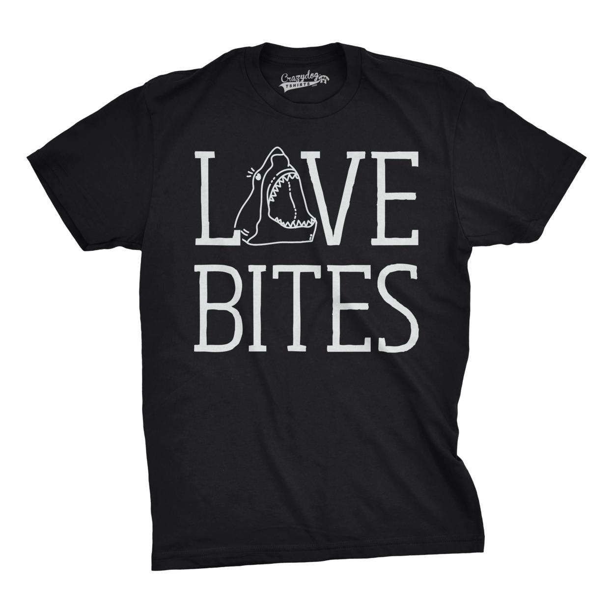Love Bites Shark T-shirt 58790364e224613a9b03fc6d