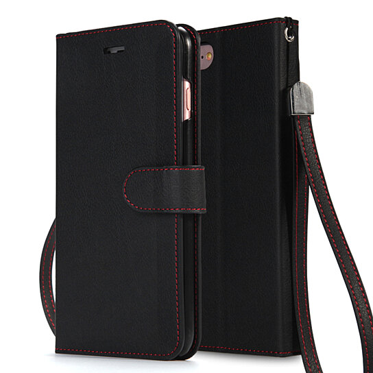 Iphone  Plus Case With Wrist Strap