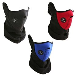 Half-Shield Windproof Sportmask, Great For Cycling, BMX, Mountain Biking and more!