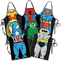 Retro Superhero BBQ/Cooking Aprons