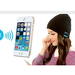 Unisex Bluetooth Audio Beanies With Built-in Headphones