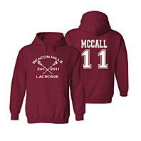 Beacon Hills MCCALL 11 Unisex Hooded Pullover