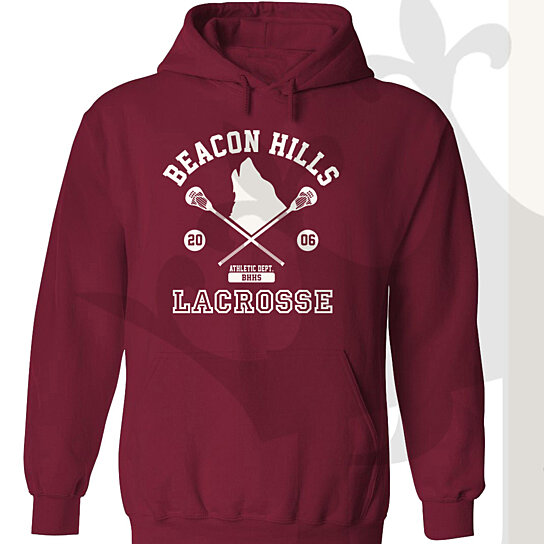 buy teen wolf mccall 11 unisex hooded pullover by custom. Black Bedroom Furniture Sets. Home Design Ideas