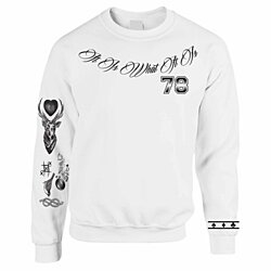 LOUIS TOMLINSON Styles Tattoo Sweatshirt One Direction