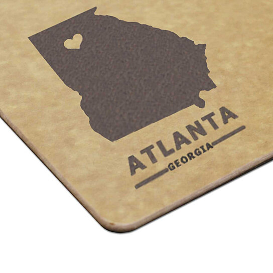 Great Wedding Anniversary Gifts: Buy Personalized City And State Engraved Cutting Board