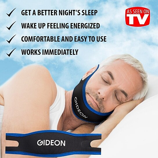 Buy Gideon Anti Snoring Chin Strap Stop Snoring Solution