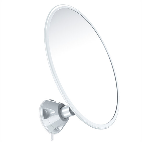 bathroom suction mirror buy gideon fogless magnifying shower mirror with strong 11543